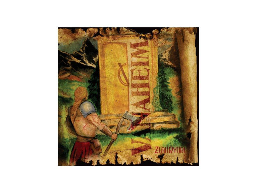 Vanaheim Zlatí rytíři přední obal