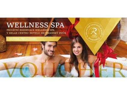 voucher wellness spa 1 hodina