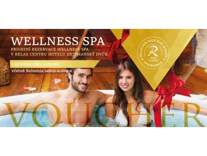 voucher wellness spa 1 hodina, sekt, ovoce