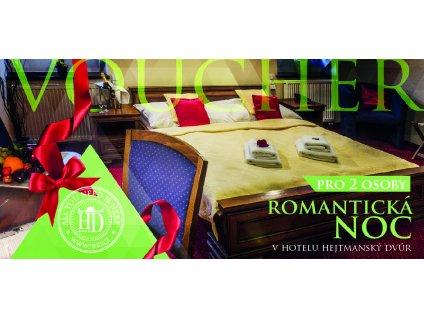voucher romantická noc