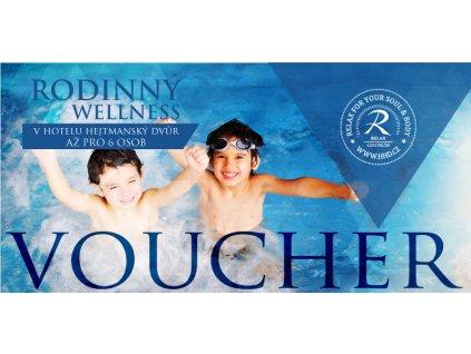 voucher rodinný wellness