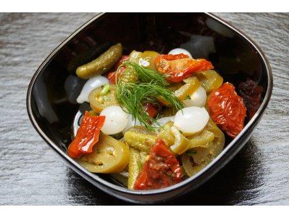 pikantní nakládaná zelenina hhd
