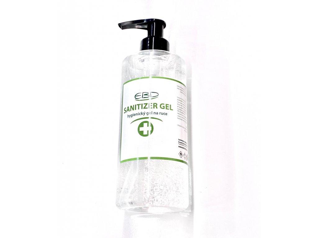 dezinfekční gel na ruce 250ml černá pumpička