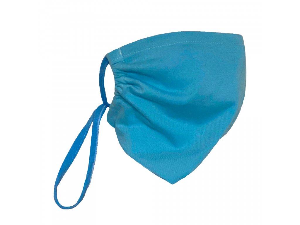 textilni rouska s kapsou na nanovlakenou membranu