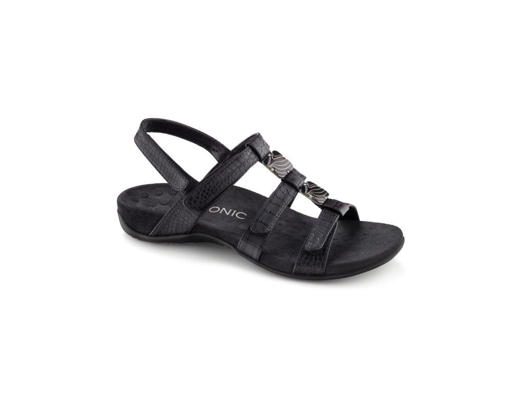 AMBER ortopedické sandály (černá)