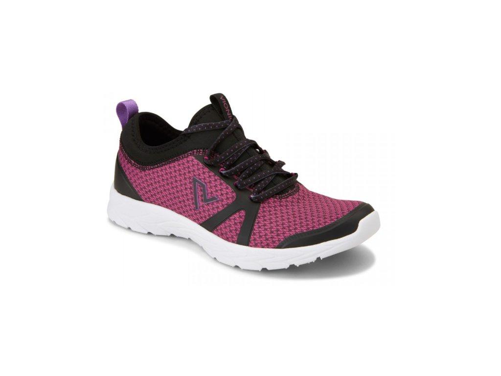 BRISK ALMA sportovní ortopedická obuv (černo-růžová)