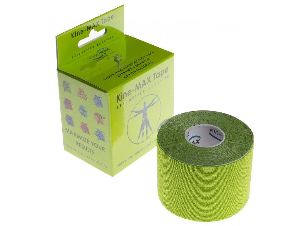 kinemax superpro rayon tape zelena 5 m o