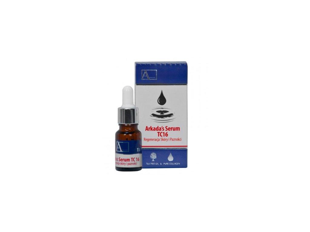 Arkada´s Serum TC16 - Kolagenové sérum na nehty s čajovníkem