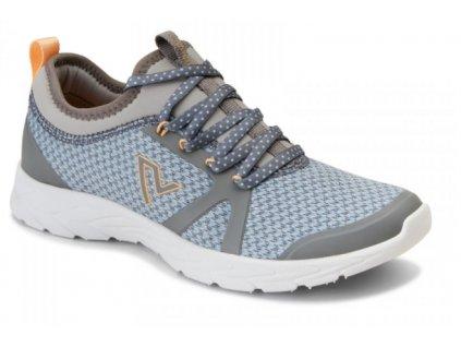 BRISK ALMA sportovní ortopedická obuv (šedo-modrá)