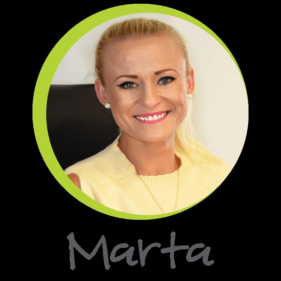 Marta M. grafik a sociální sítě | HillVital