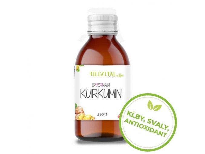 hillvital lipozomalny kurkumin klby svaly antioxidant sk