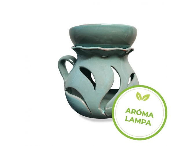 Keramická aromalampa - Aténa