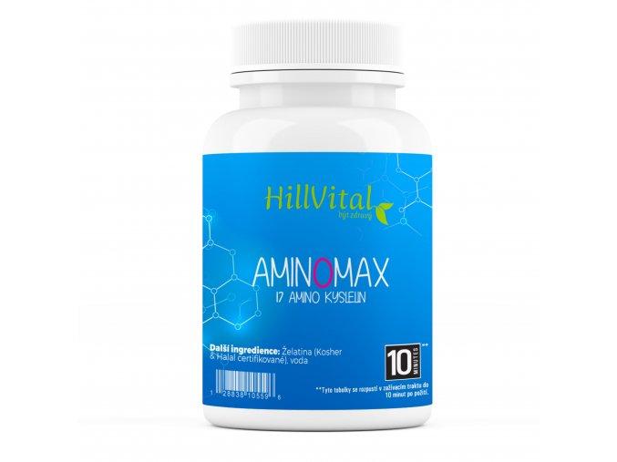 aminomax hillvital sk 17 druhov aminokyselin