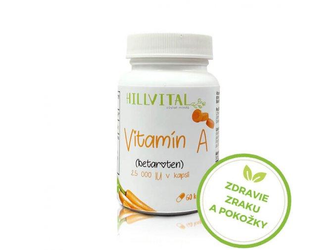 vitamin a betakaroten hillvital sk zdravie pokozky zraku