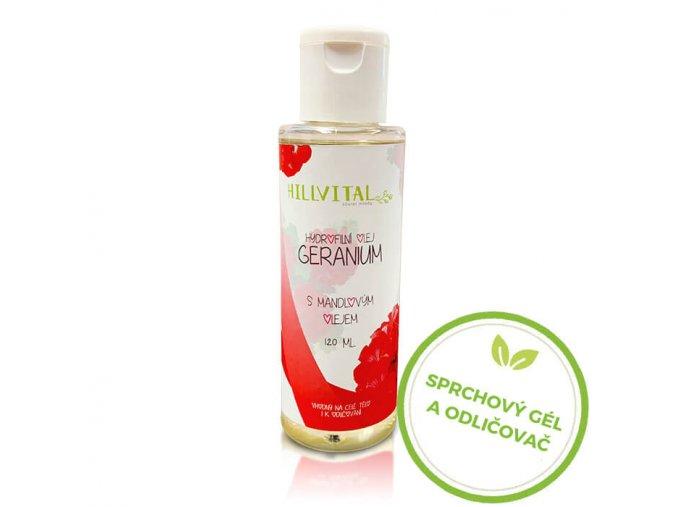 hydrofilny olej geranium hillvital sk