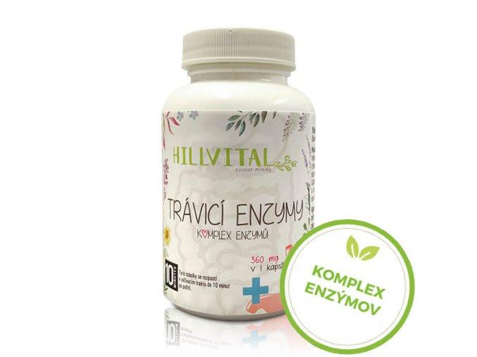 traviace enzymy hillvital sk komplex enzymov