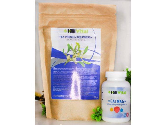 hillvital zlavy akcie balicek na krvny tlak caj press plus calmag vitaminy