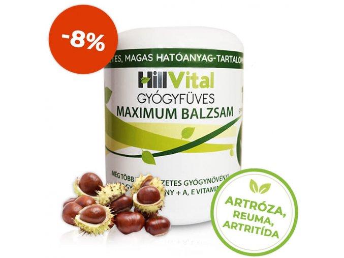 Maximum balzam bolest klbov a reuma HillVital