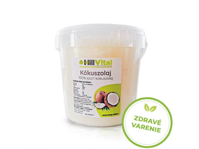 hillvital kokosovy olej na zdrave varenie prirodne produkty slovensko