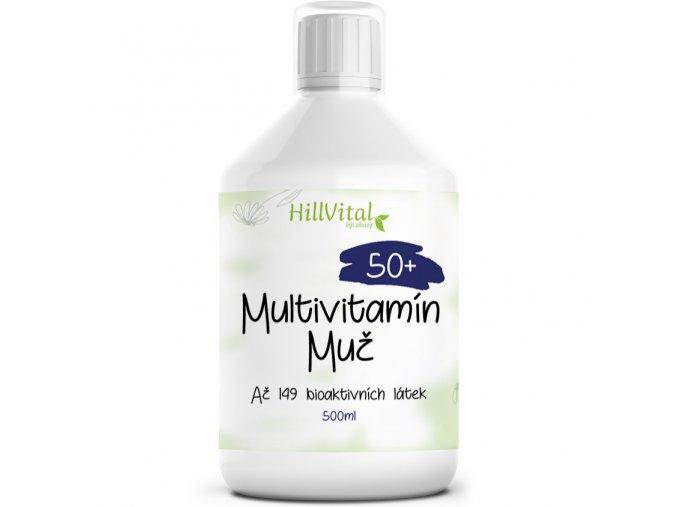 hillvital vitaminy muz 50+ uvodny