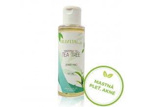 hydrofilny olej tea tree hillvital sk cz mastna plet akne
