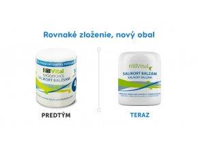 Salikort balzam na bolest svalov od HillVitalu