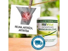 hillvital maximum balzam reuma artroza artritida