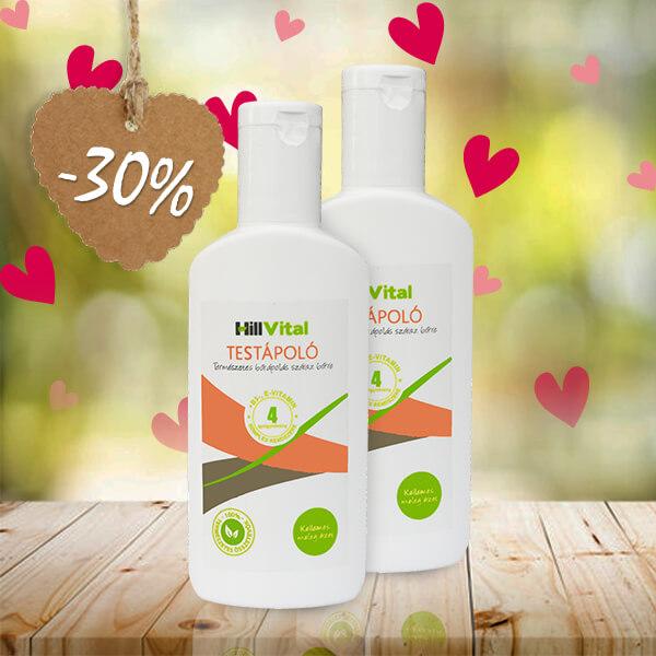 HillVital | Dvojbalenie Telového mlieka na suchú pokožku a svrbenie 250 ml