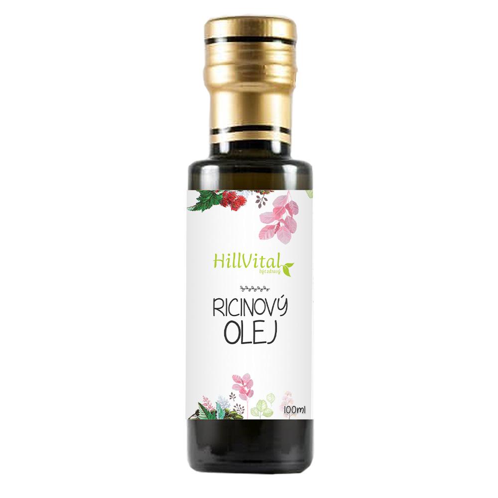 HillVital | Ricínový olej za studena lisovaný 100 ml