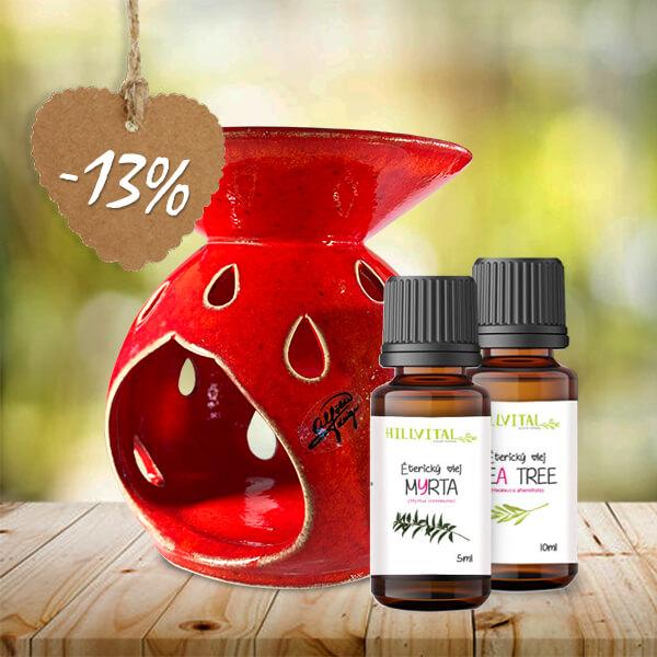 HillVital | Arómaterapeuticky balíček pre zdravie pokožky