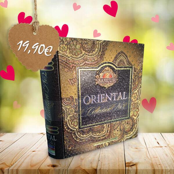 HillVital | Orientálny čierny čaj kniha, 32 vrecúšok