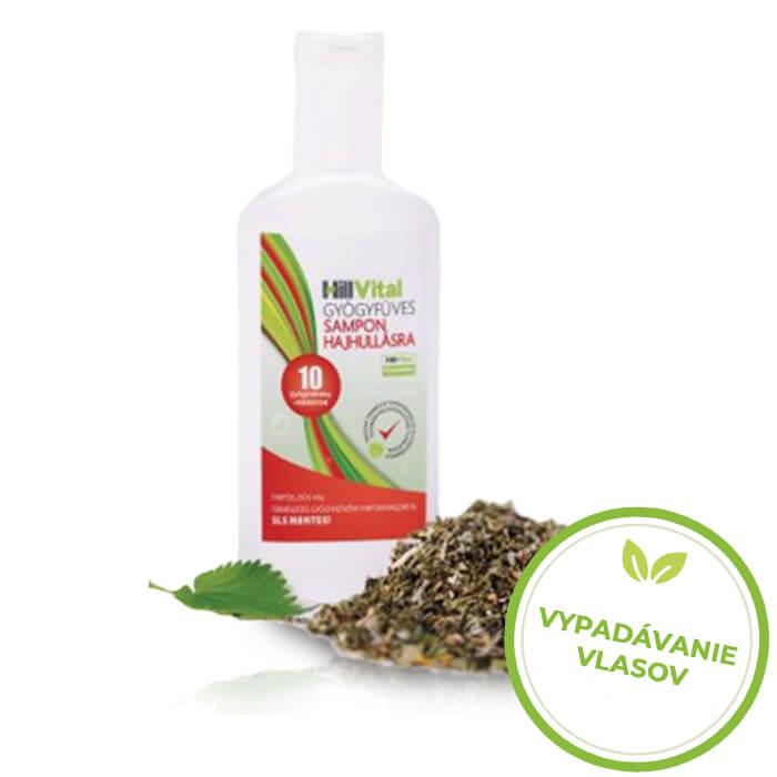 HillVital Prírodný šampón proti vypadávaniu vlasov 250 ml