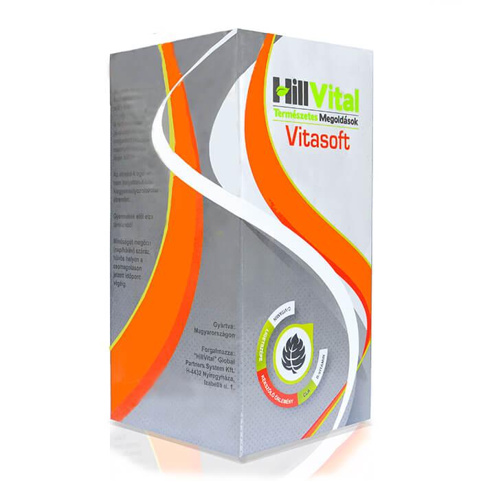 HillVital | Vitasoft - komplexný vitamínový balík na ekzémy a psoriázu 30 ks