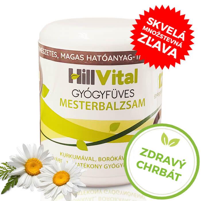 Hillvital | Master balzam - masť na bolesť chrbta 250 ml