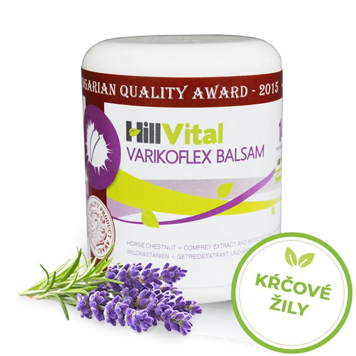 HillVital | Varikoflex balzam - kŕčové žily 250 ml