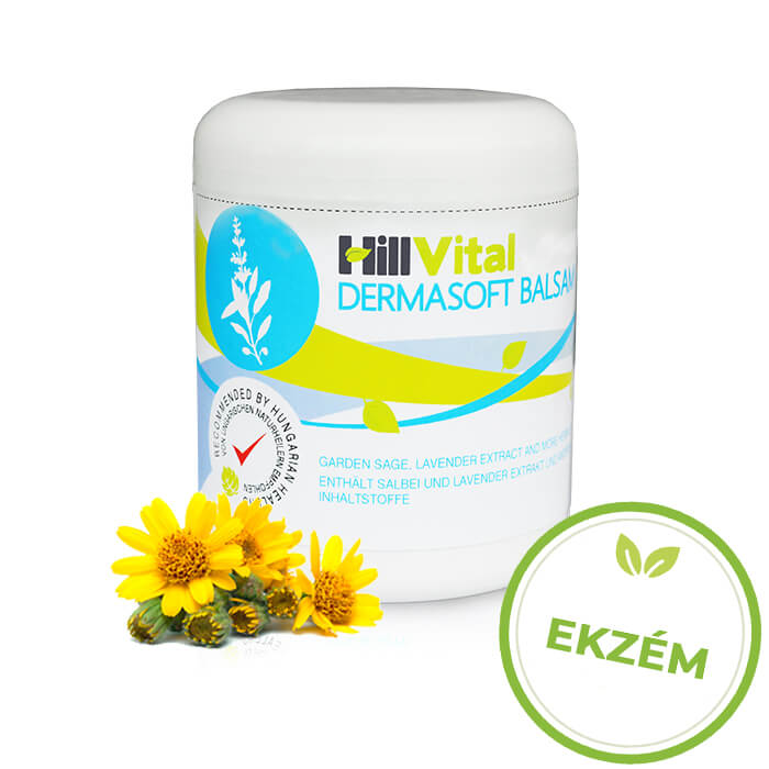 HillVital | Dermasoft - masť na ekzém 250 ml