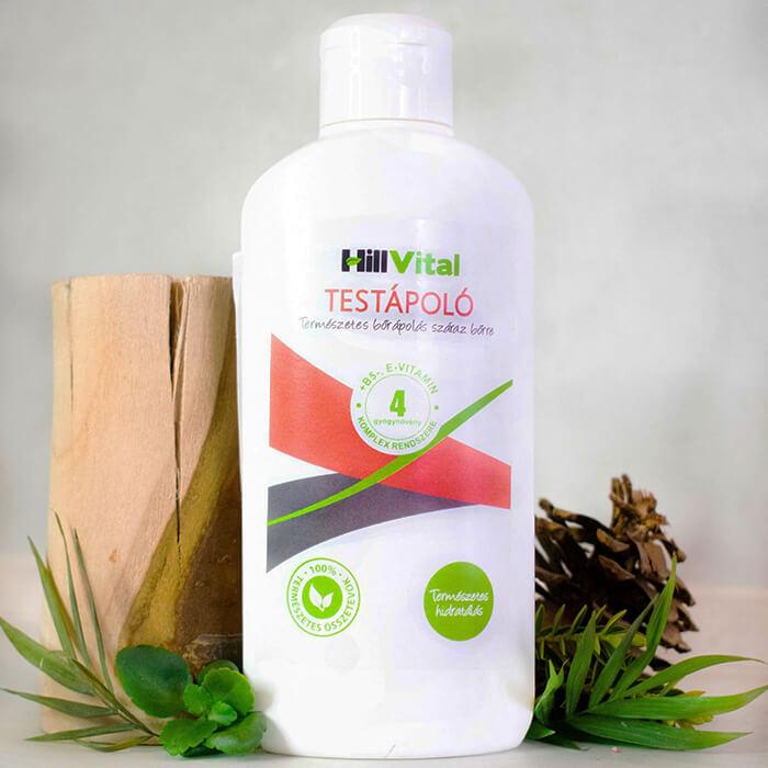HillVital | Telové mlieko na suchú a svrbiacu pokožku 250ml