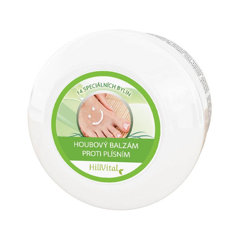 HillVital | Hubový balzam - na plesne a mykózu nôh 60 g
