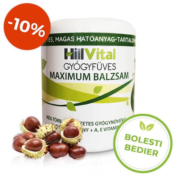 HillVital | Maximum masť na bolesti bedier a bedrového kĺbu 250 ml