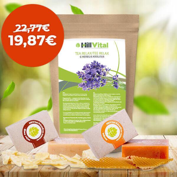 HillVital | Relaxačný balíček - pre ženy 340g