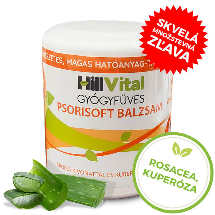 HillVital   Balzam na rosaceu Psorisoft 250 ml
