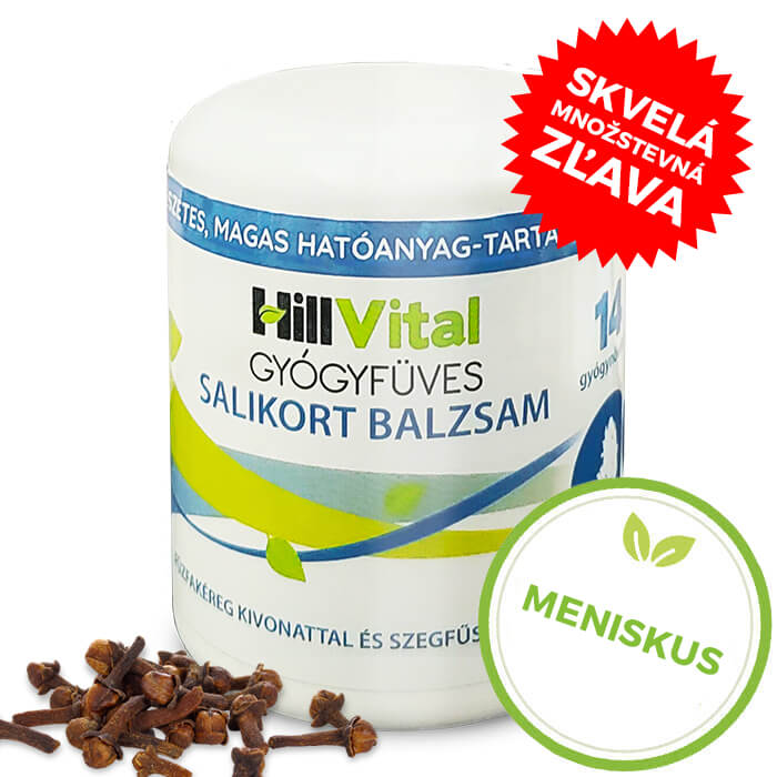 HillVital | Masť na bolesť menisku - Salikort balzam 250 ml