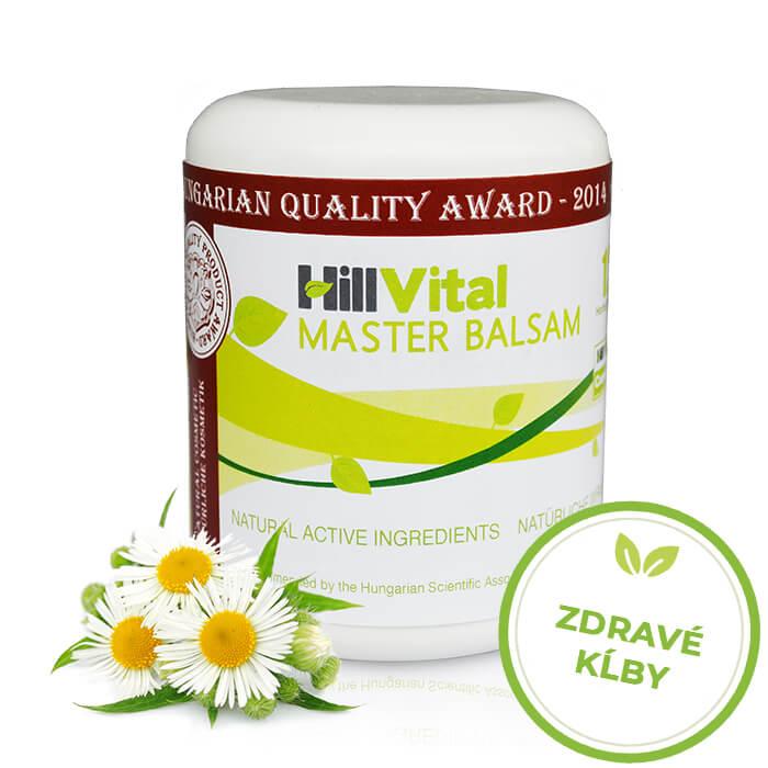HillVital | Masť na bolesť kĺbov - Master balzam 250 ml