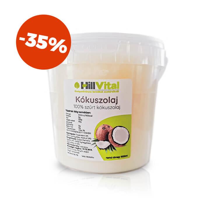 HillVital   Kokosový olej na varenie 1000 ml