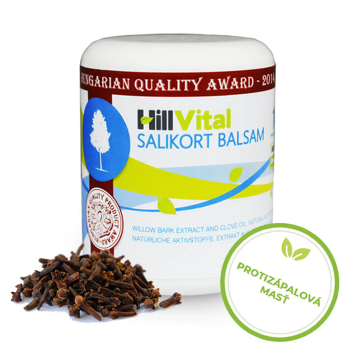 HillVital | Protizápalová masť na svaly a kĺby - Salikort balzam 250 ml
