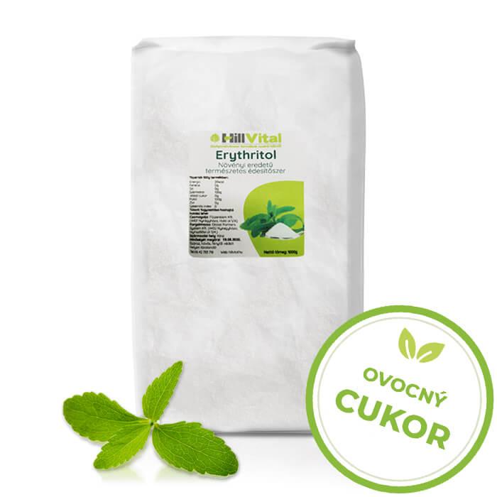 HillVital | Erythritol (eritrit) - ovocný cukor 1000g