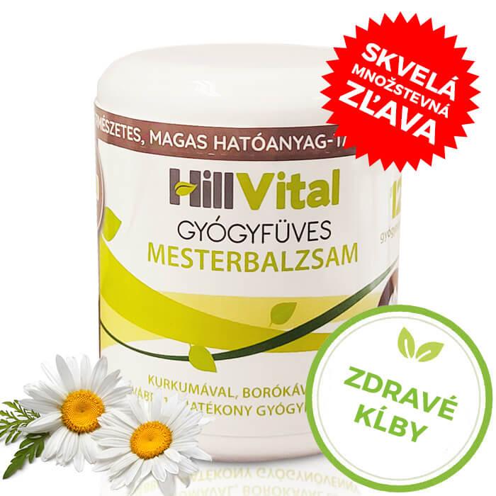 HillVital | Masť na bolesť kĺbov, svalov a chrbta - Master balzam 250 ml