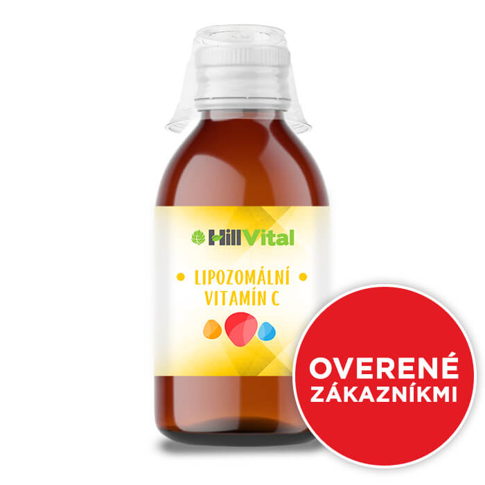 HillVital | Lipozomálny vitamín C 250 ml