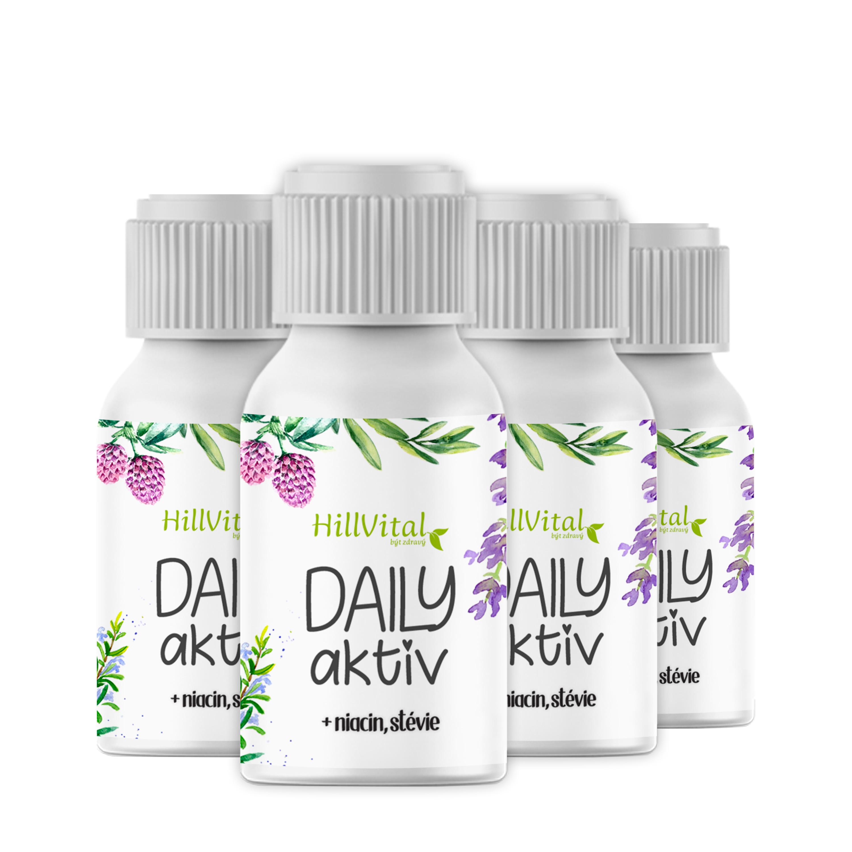 HillVital | Daily Aktiv - komplex vitamínov a minerálov 100 ml