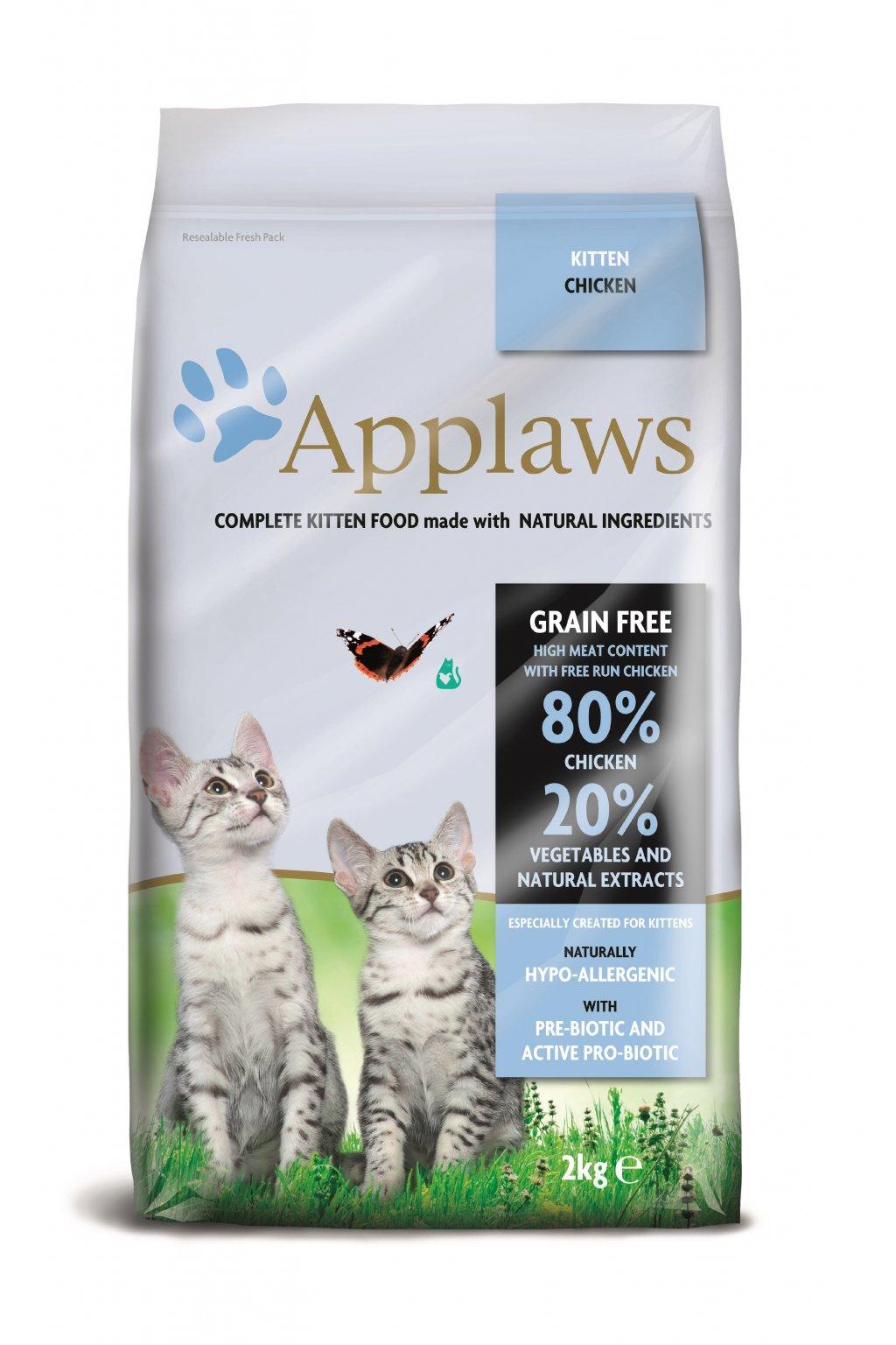 4204 Applaws granule CAT 2kg kitten